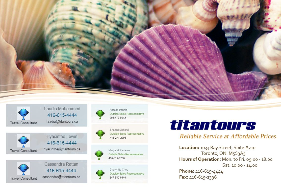 Titan Tours - Reliable Service at Affordable Price